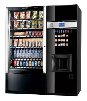 Máquinas vending de Snack
