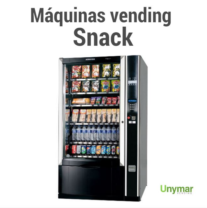 Máquinas vending Snack