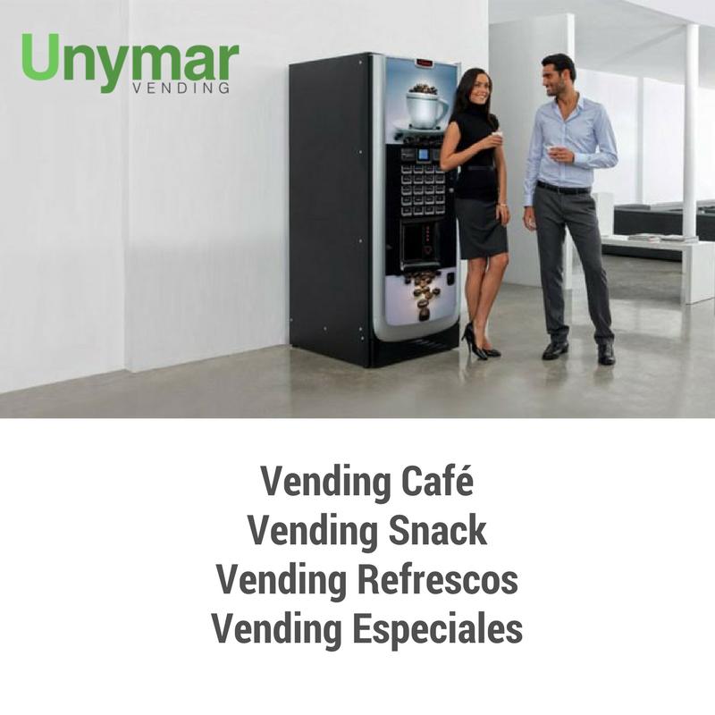 Las mejores Máquinas Vending en Madrid